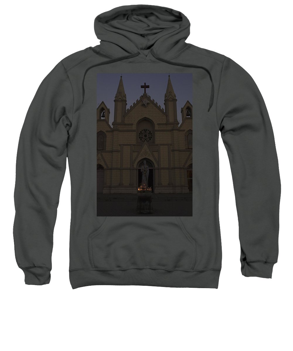 Solemn Sweatshirt featuring the photograph Skc 5484 Solemn Thanksgiving by Sunil Kapadia