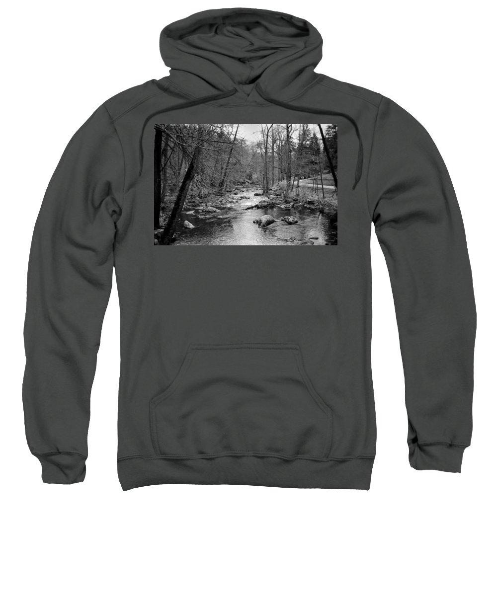 Landscape Sweatshirt featuring the photograph Sleepy Hollow Cemetary by Joseph Mari