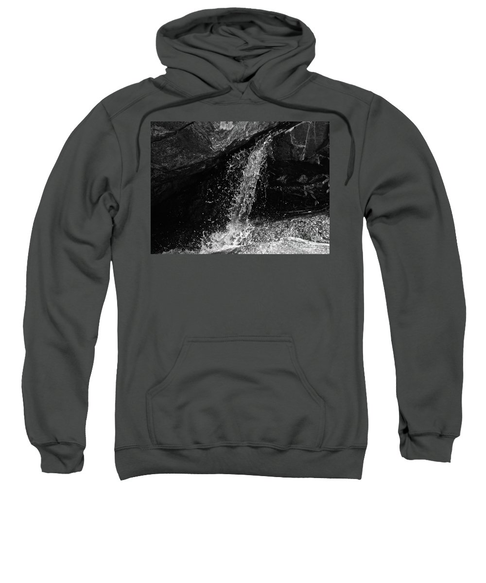 Water Sweatshirt featuring the photograph Small Waterfall by Zen Zone