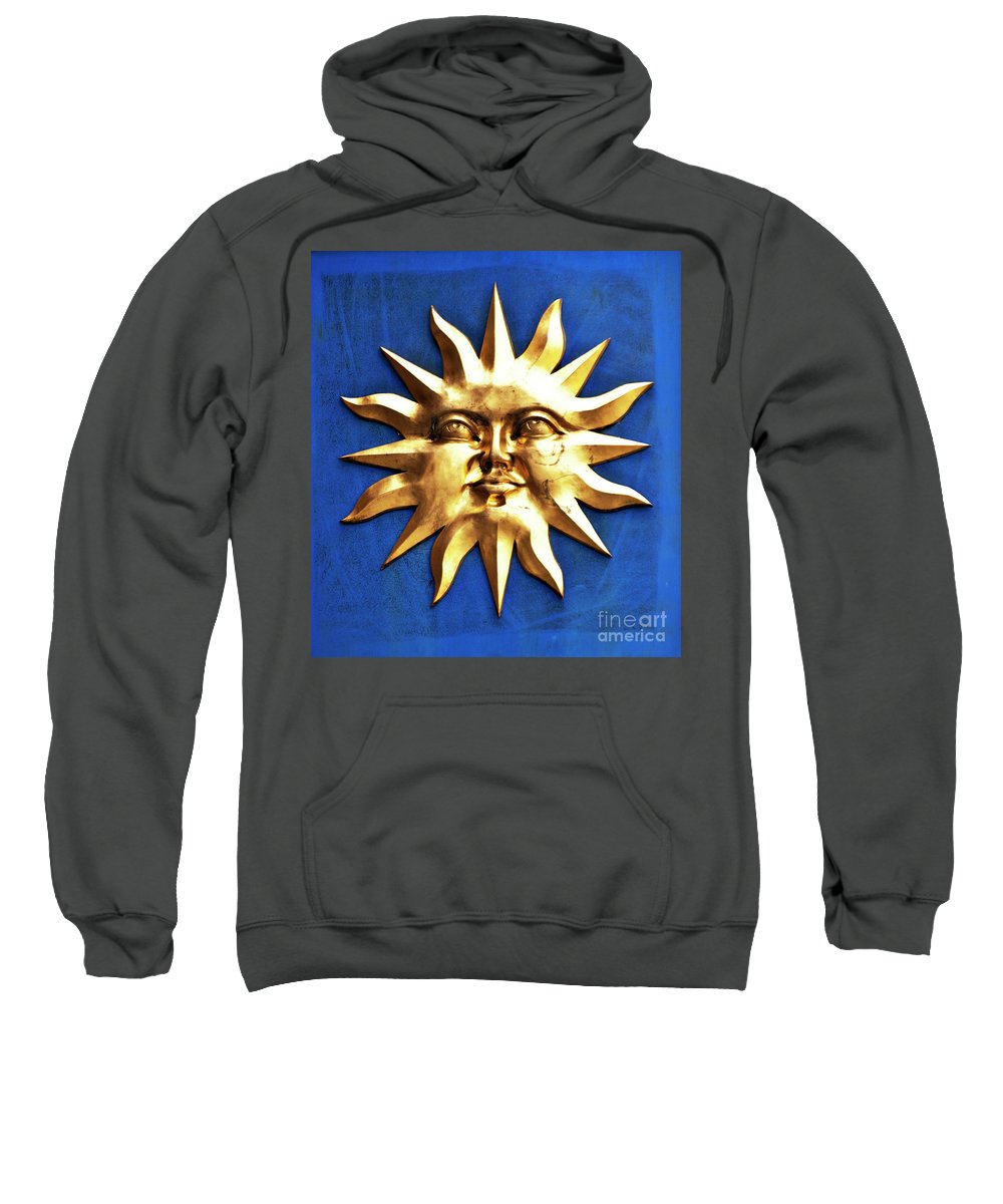 Sun Sweatshirt featuring the photograph Smiling Sunshine by Meirion Matthias