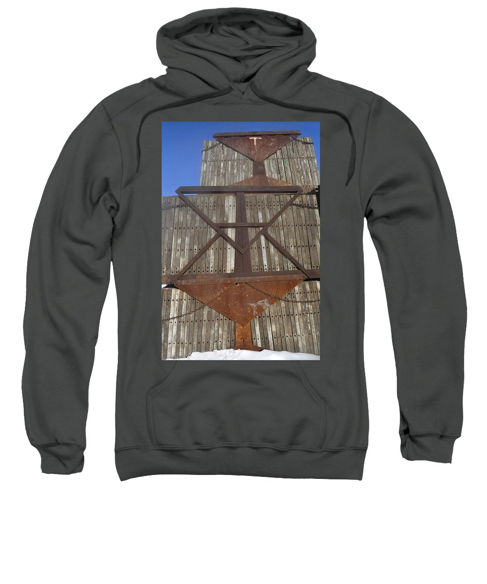 Bable Sweatshirt featuring the photograph Snow Bable No.2 by Tim Nyberg