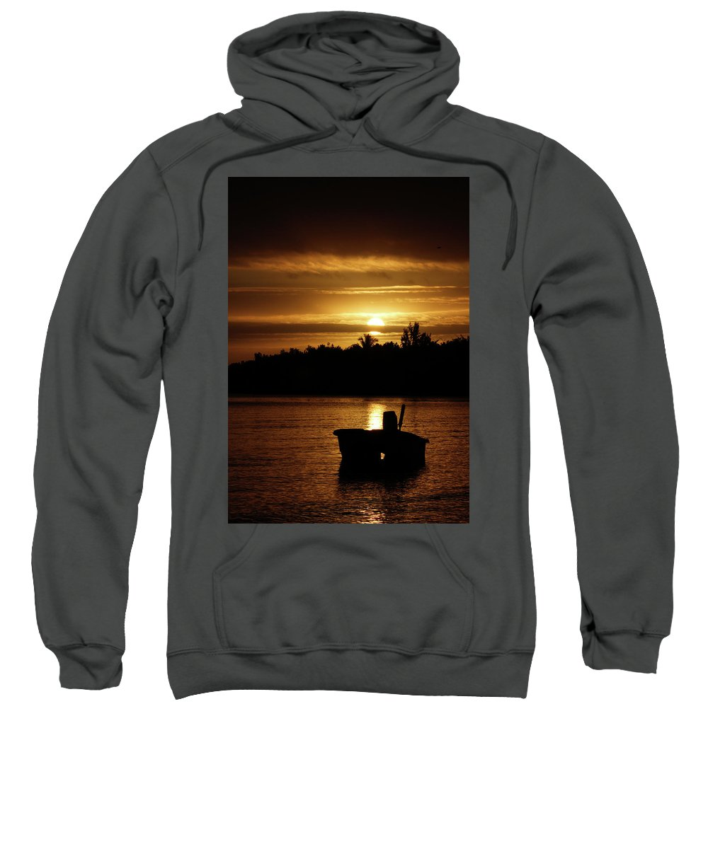 Tropics Sweatshirt featuring the photograph Solar Charged by Nick Mattea
