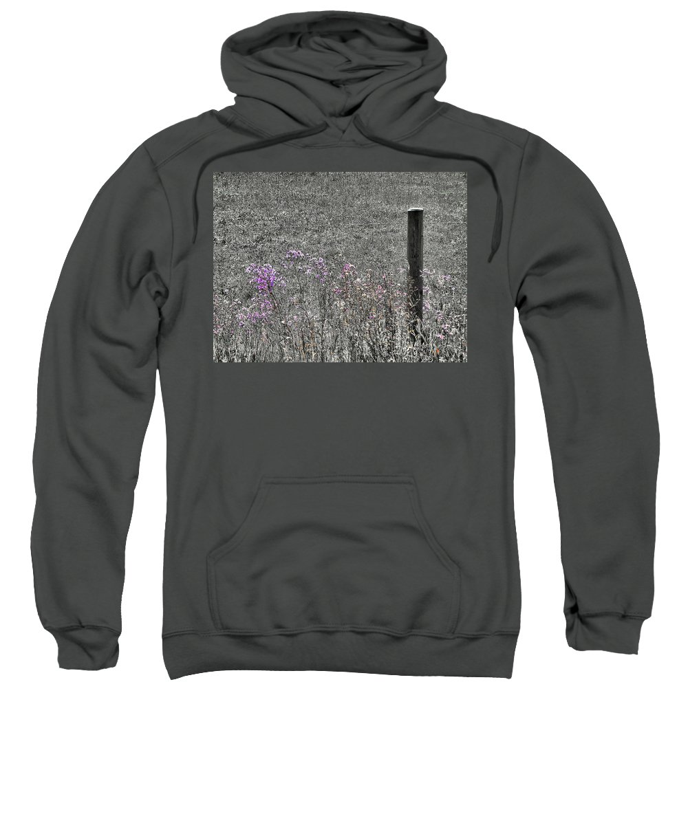 Solitary Sweatshirt featuring the photograph Solitary by Susan Kinney