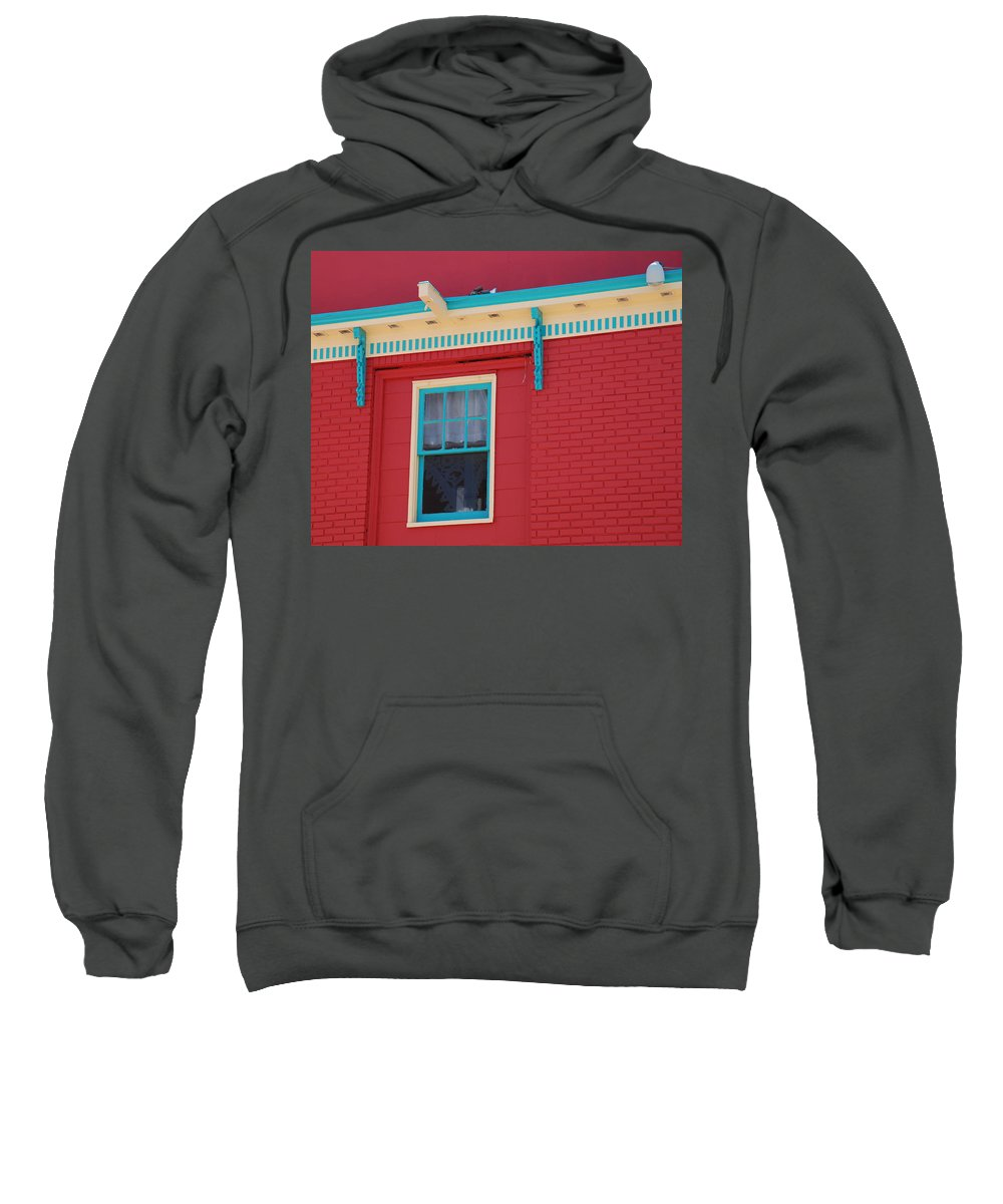 Window Sweatshirt featuring the photograph Solitary Window by Richard Bryce and Family