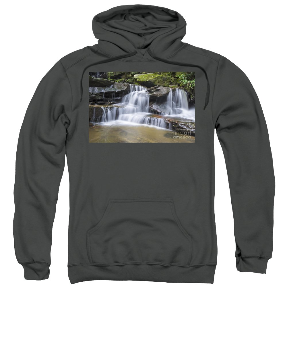 Australia Sweatshirt featuring the photograph Somersby Falls 1 by Paul Woodford