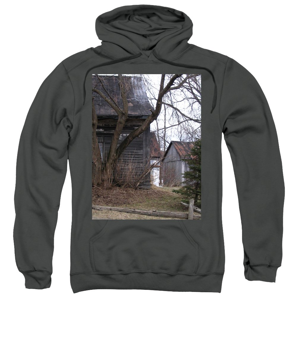 Sweatshirt featuring the photograph Somewhere by Line Gagne