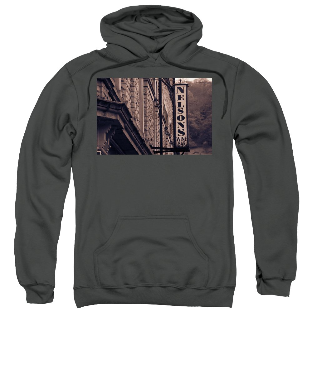 Hebden Sweatshirt featuring the photograph Sons by Jez C Self