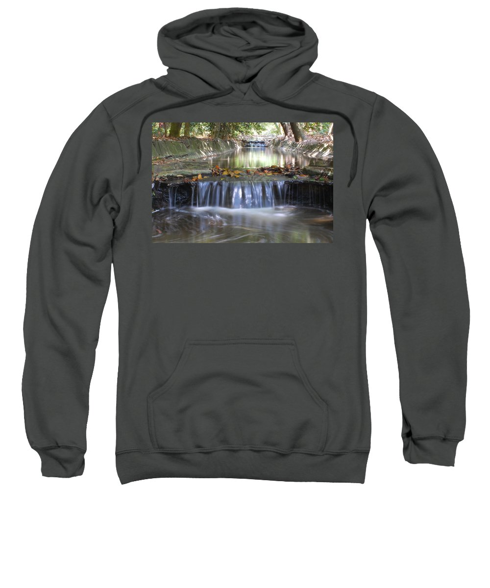 Water Sweatshirt featuring the photograph Soothing Waters by Amy Fose