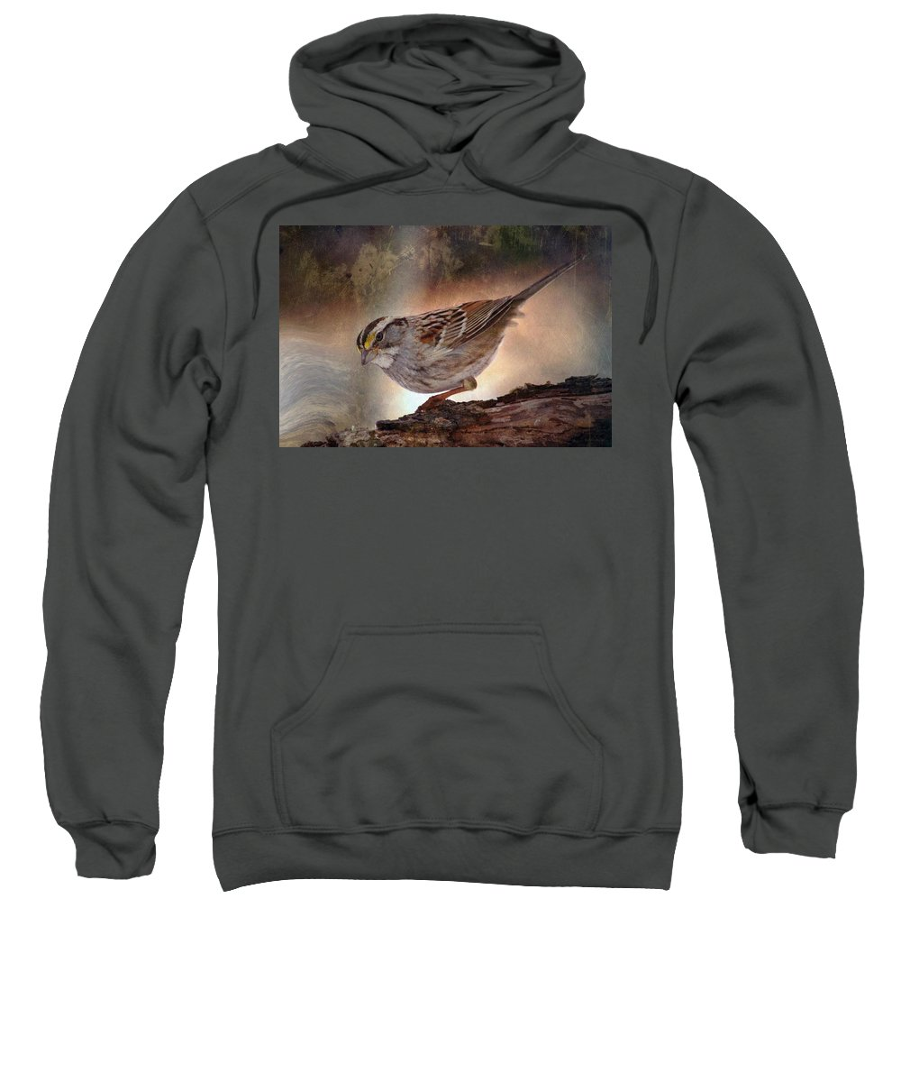 Sparrow Sweatshirt featuring the photograph Soul Catcher...  by Arthur Miller
