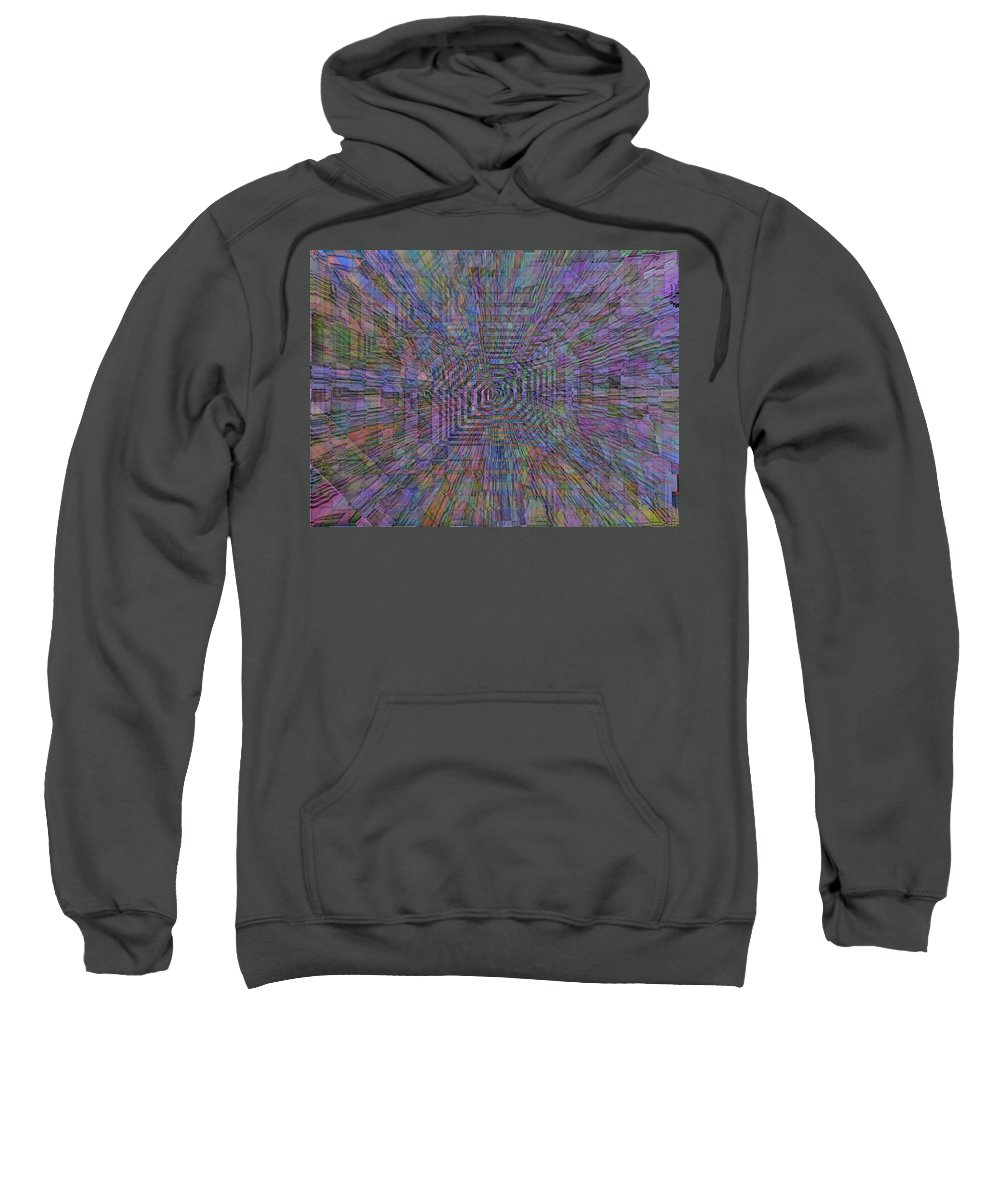 Sound Sweatshirt featuring the digital art Sound Waves by Tim Allen