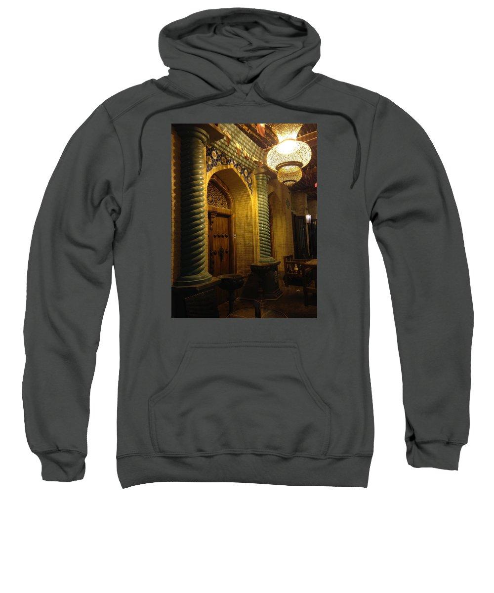 Souqs Sweatshirt featuring the photograph Souqs by J Matthew Henry