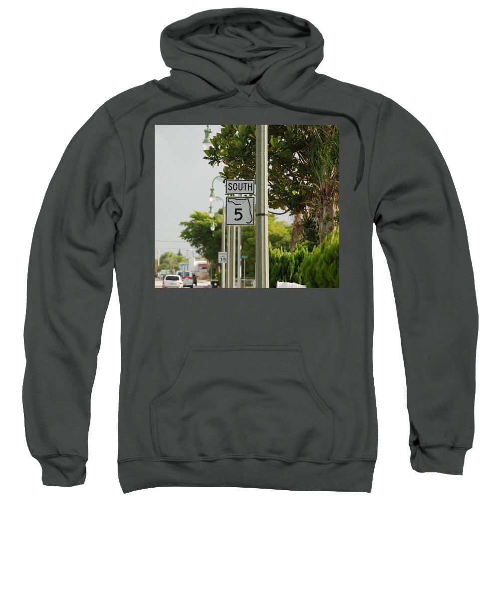 South Sweatshirt featuring the photograph South Florida 5 by Rob Hans