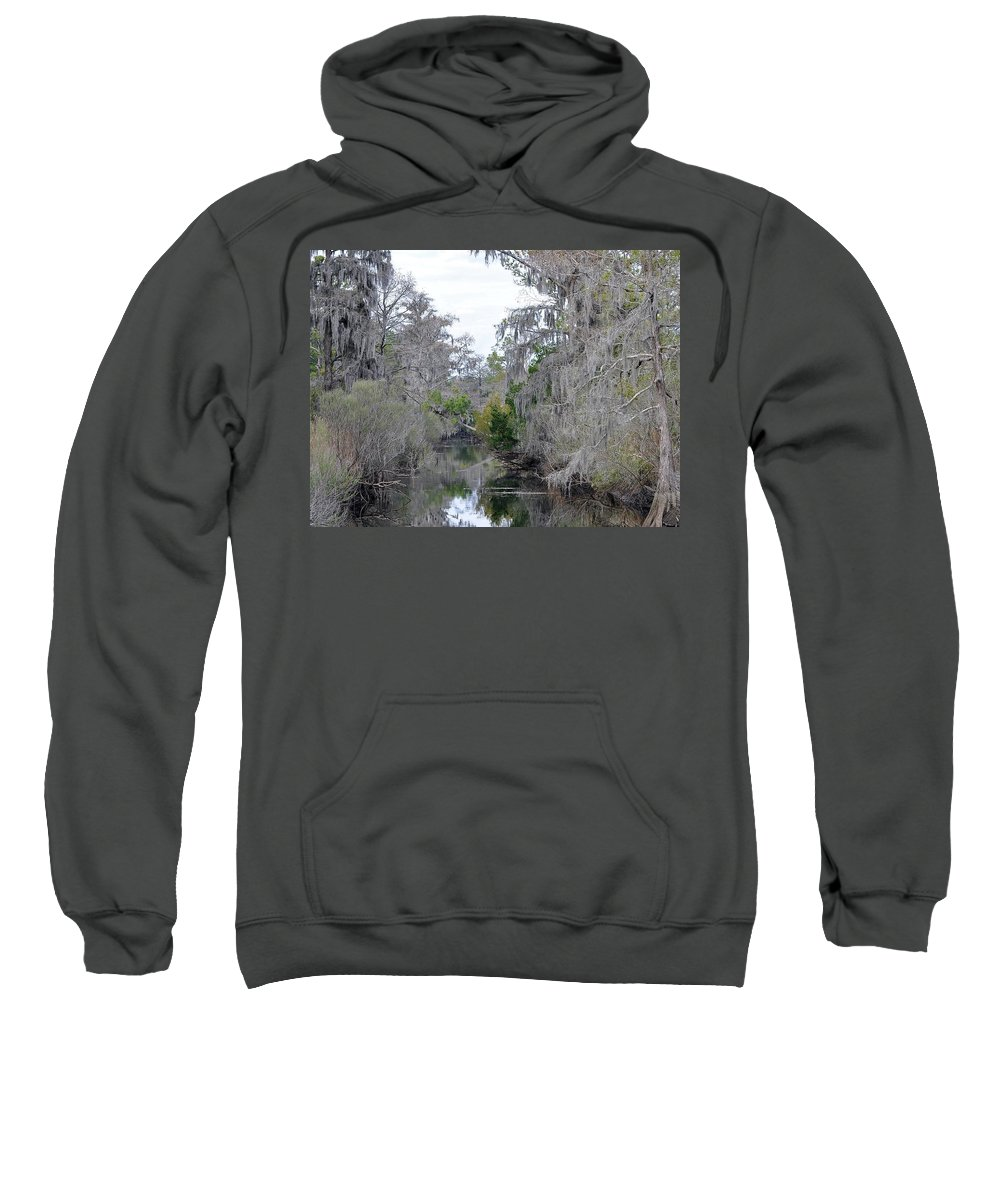South Sweatshirt featuring the photograph Southern Swamp by Al Powell Photography USA