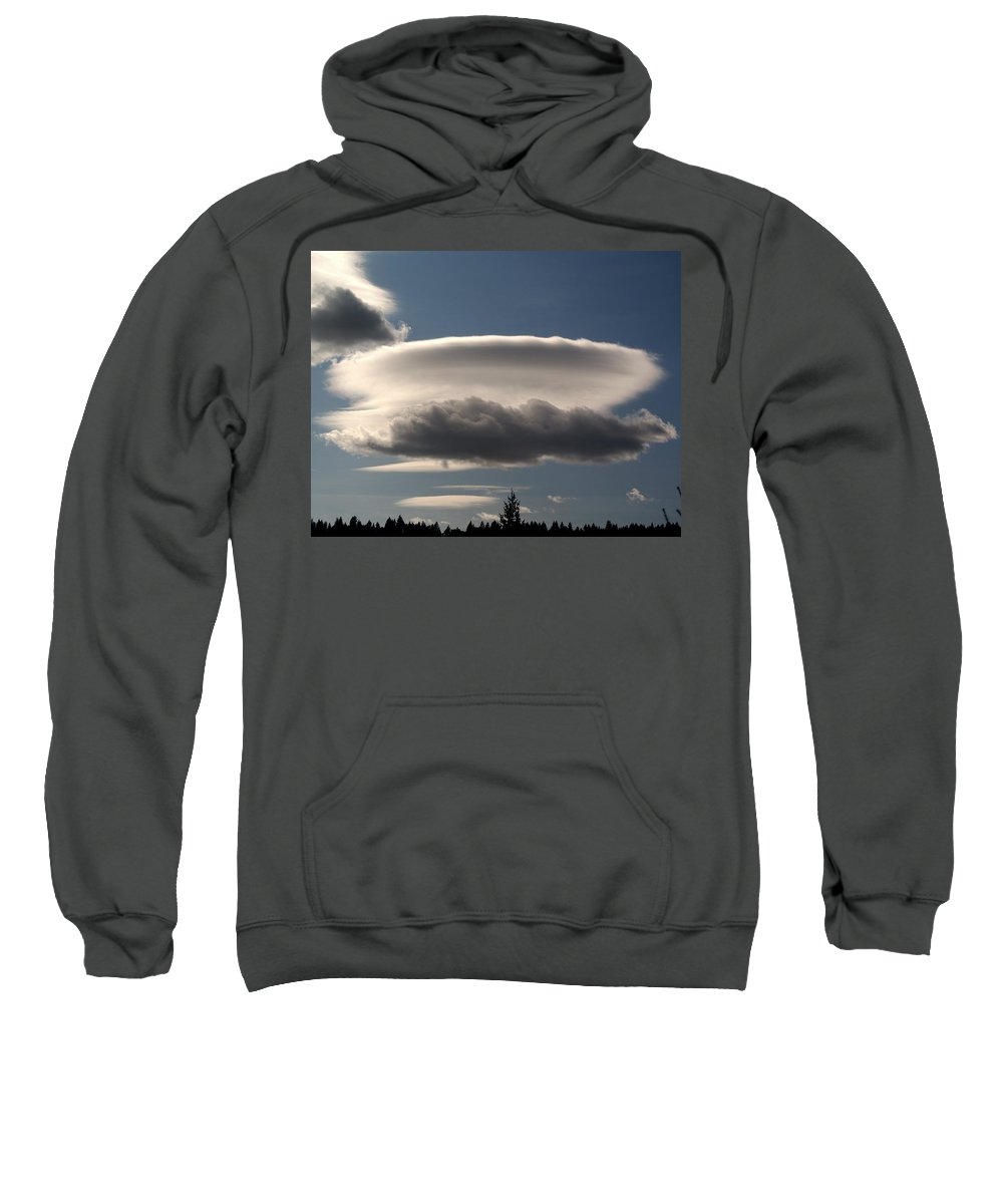 Nature Sweatshirt featuring the photograph Spacecloud by Ben Upham III
