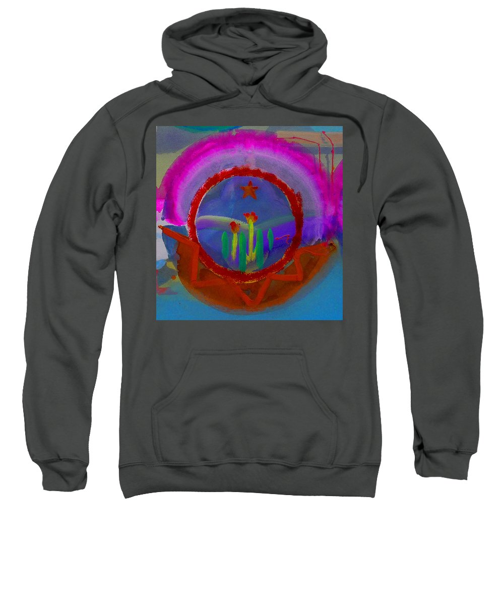 Love Sweatshirt featuring the painting Spanish America by Charles Stuart