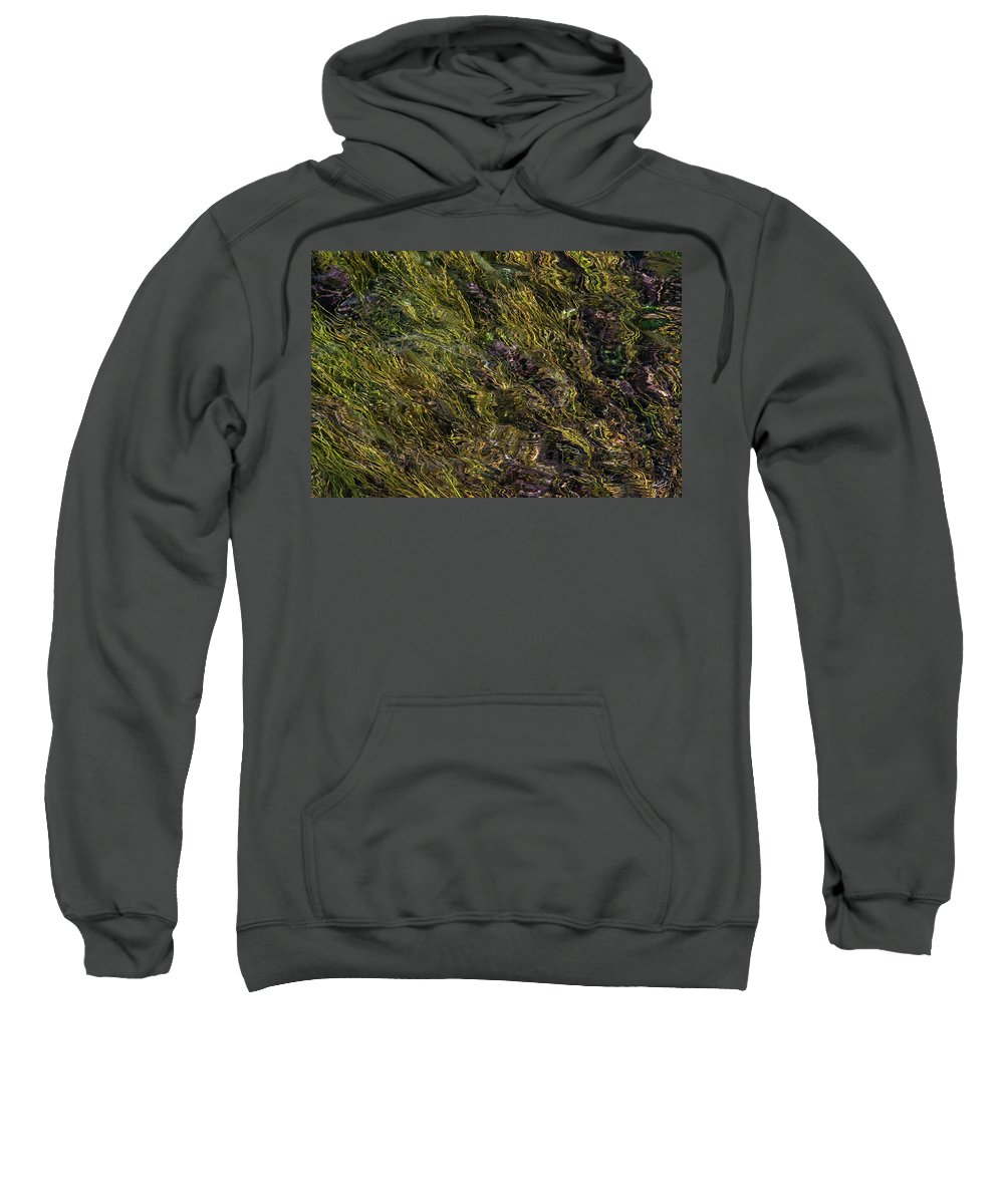 Appealing Sweatshirt featuring the photograph Sparkling Clear Waters by Leland D Howard
