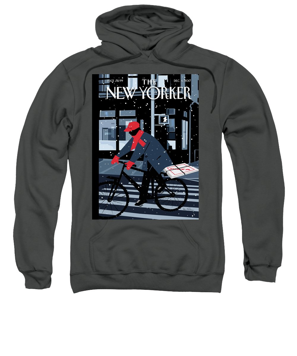 Special Delivery Sweatshirt featuring the digital art Special Delivery by Kim DeMarco
