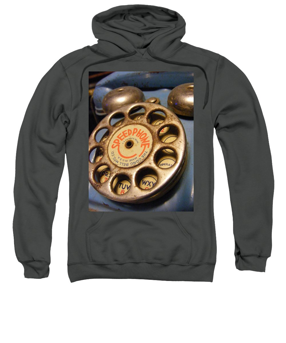 Phone Sweatshirt featuring the photograph Speed Phone by Ed Smith