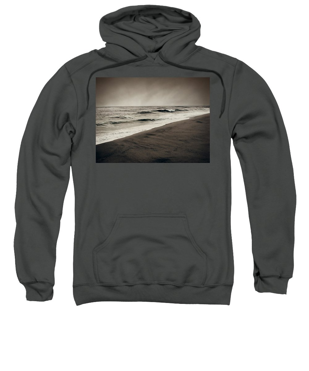 Ocean Sweatshirt featuring the photograph Spending My Days Escaping Memories by Dana DiPasquale