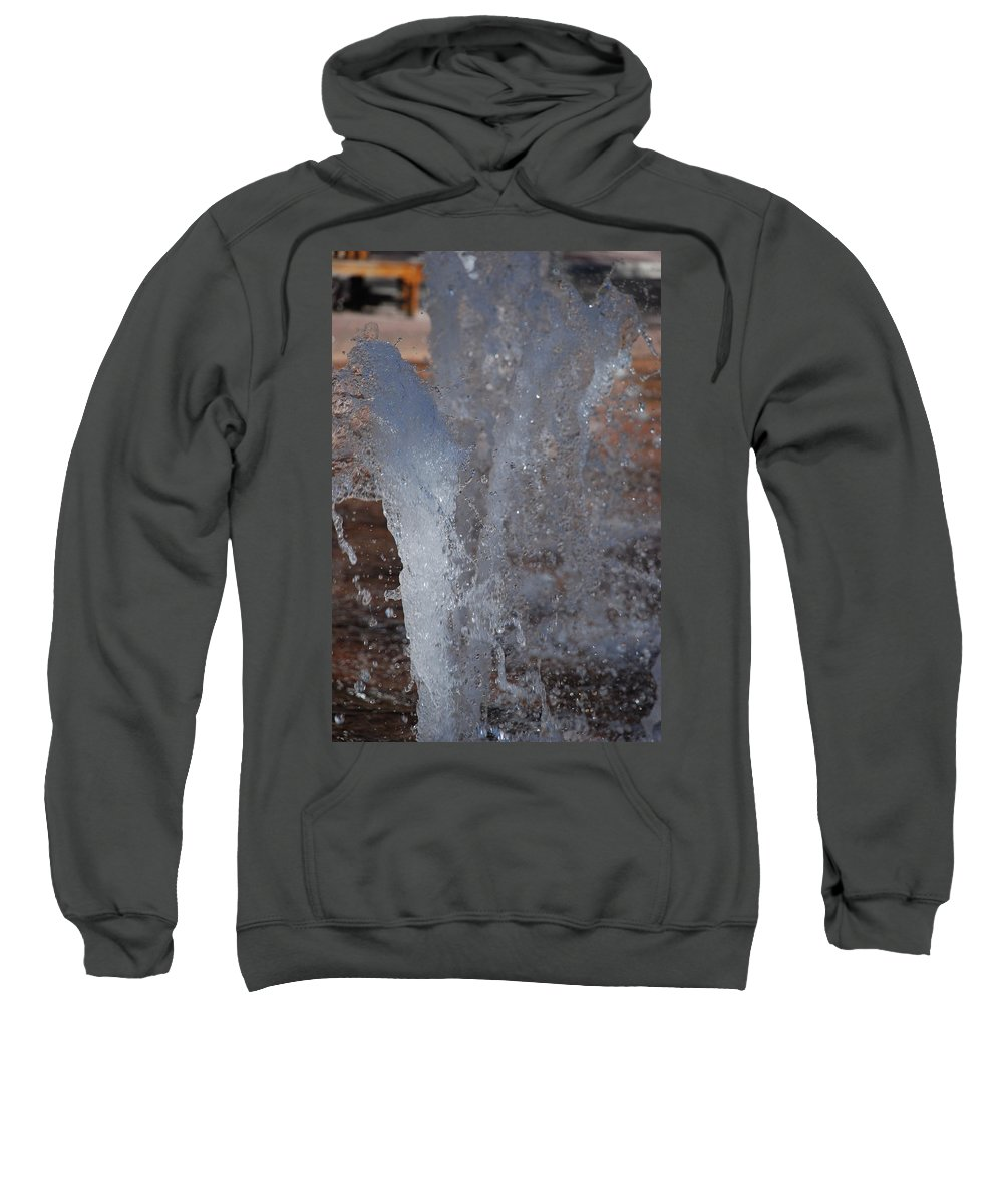 Water Sweatshirt featuring the photograph Splash by Rob Hans