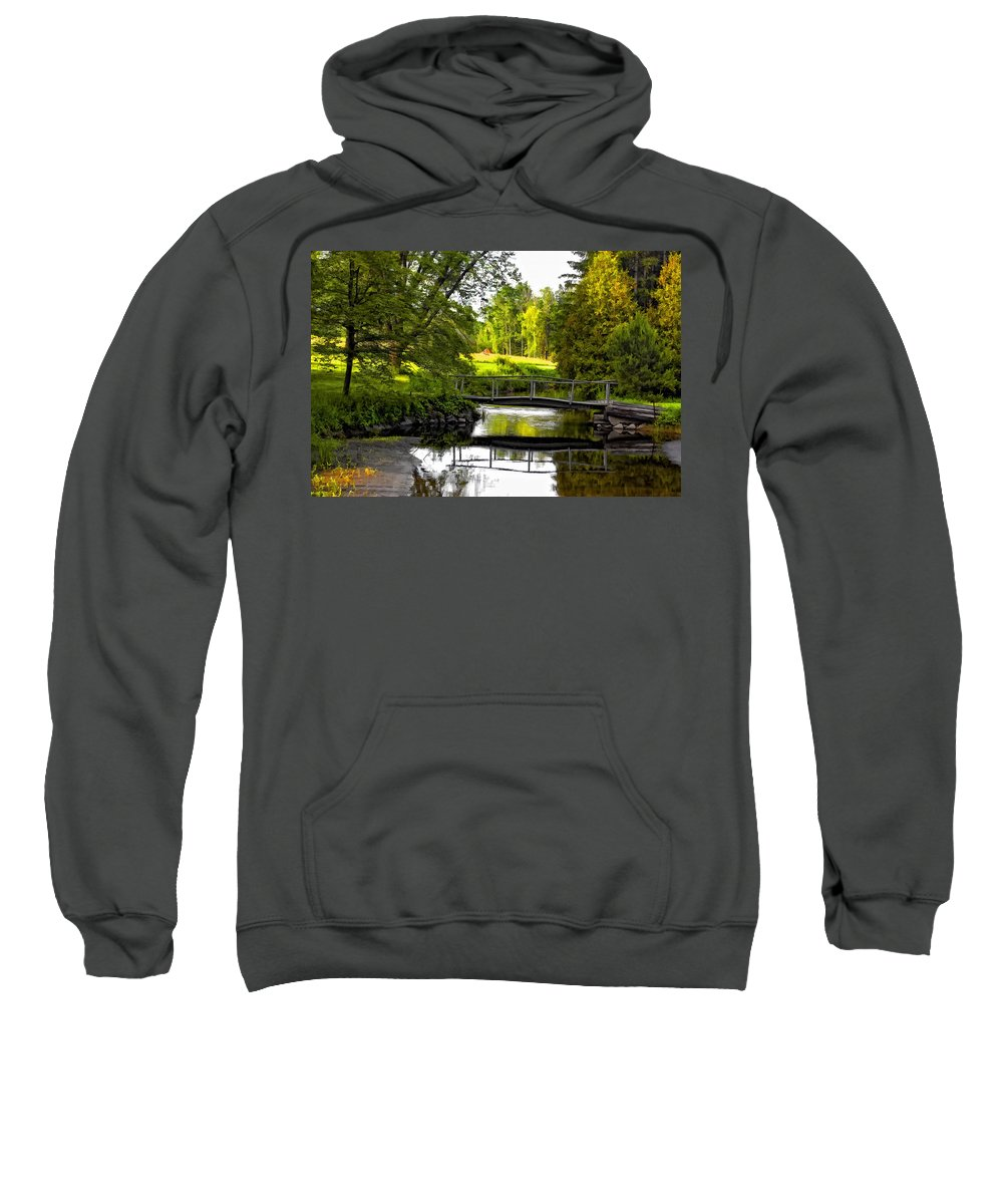 Landscape Sweatshirt featuring the photograph Spring Becomes The Summer by Steve Harrington