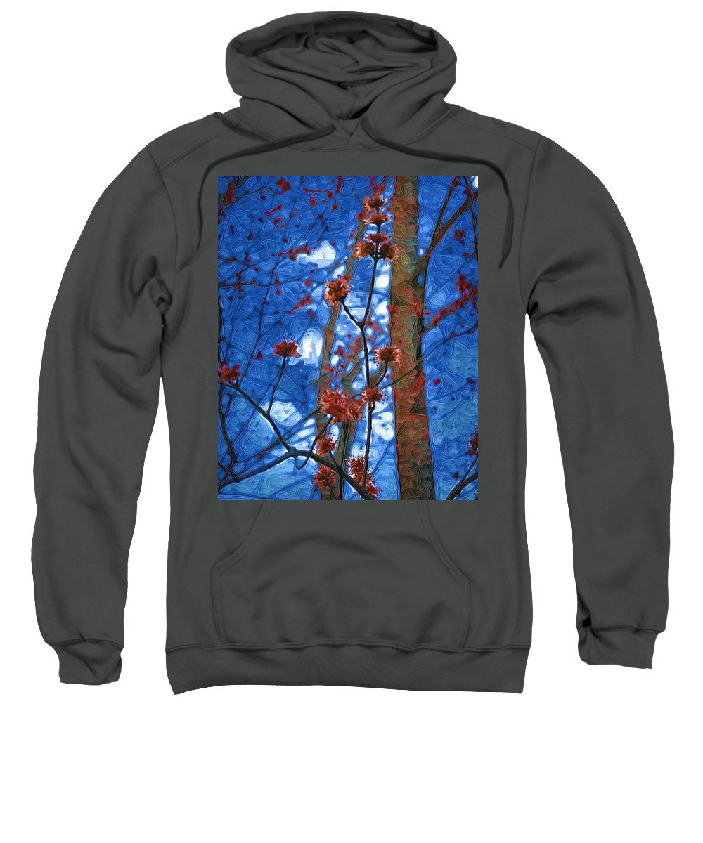 Spring Sweatshirt featuring the photograph Spring Buds by Tom Reynen