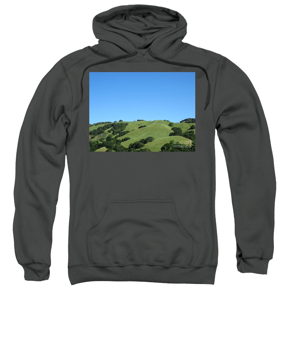 Landscape Sweatshirt featuring the photograph Spring Day by Suzanne Leonard