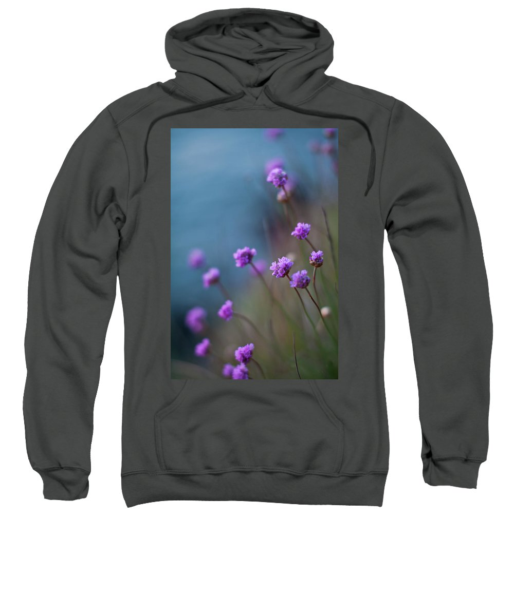Flower Sweatshirt featuring the photograph Spring Fields by Mike Reid