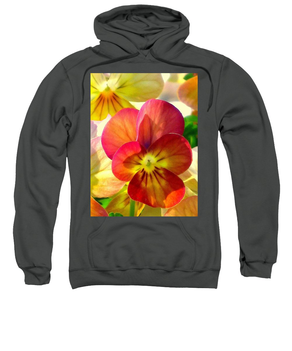 Floral Sweatshirt featuring the photograph Spring Has Sprung by Marla McFall