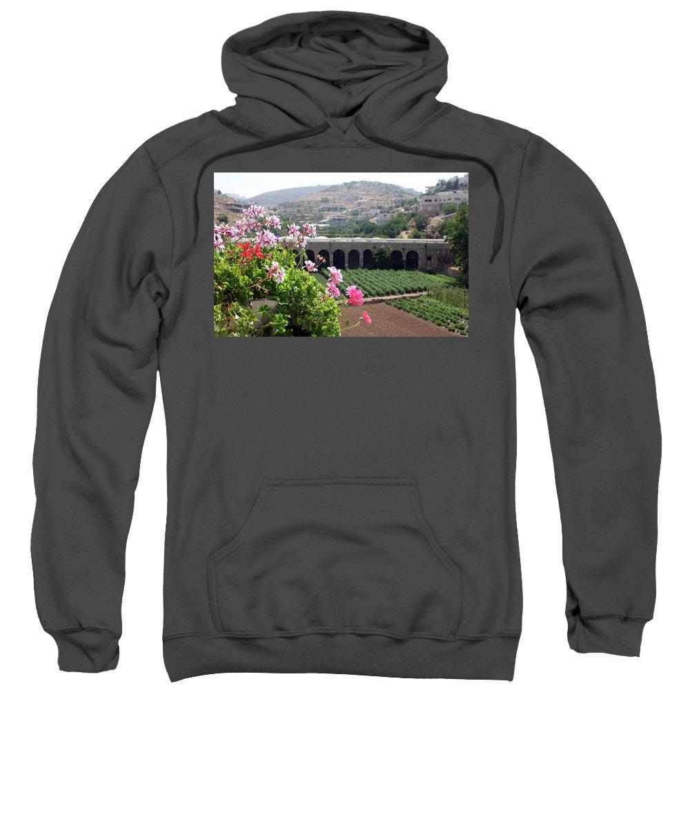 Spring Sweatshirt featuring the photograph Spring In Bethlehem by Munir Alawi
