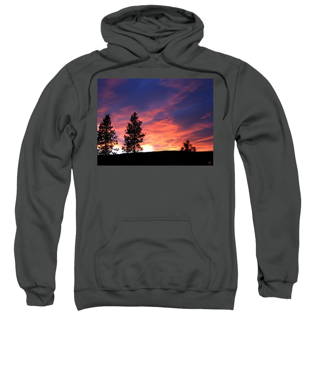 Sunset Sweatshirt featuring the photograph Spring Spectacle by Will Borden