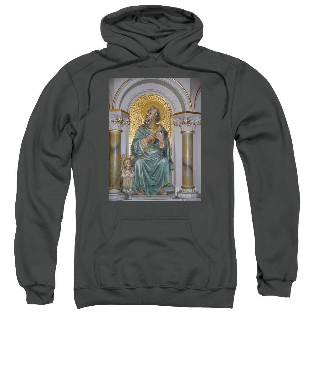 St. Matthew Sweatshirt featuring the photograph St. Matthew by Seaux-N-Seau Soileau