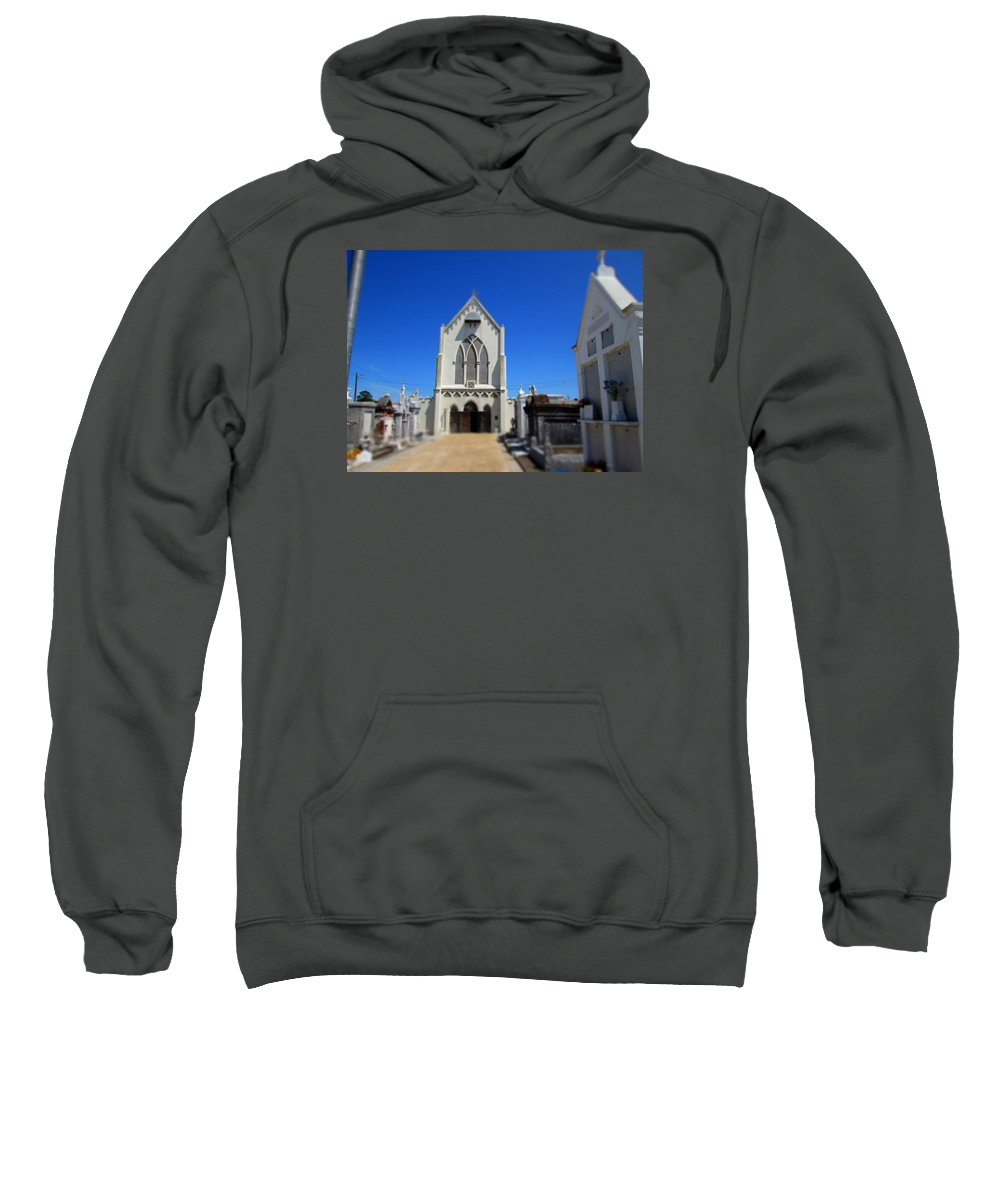 New Orleans Sweatshirt featuring the photograph St. Roch by Monte Landis