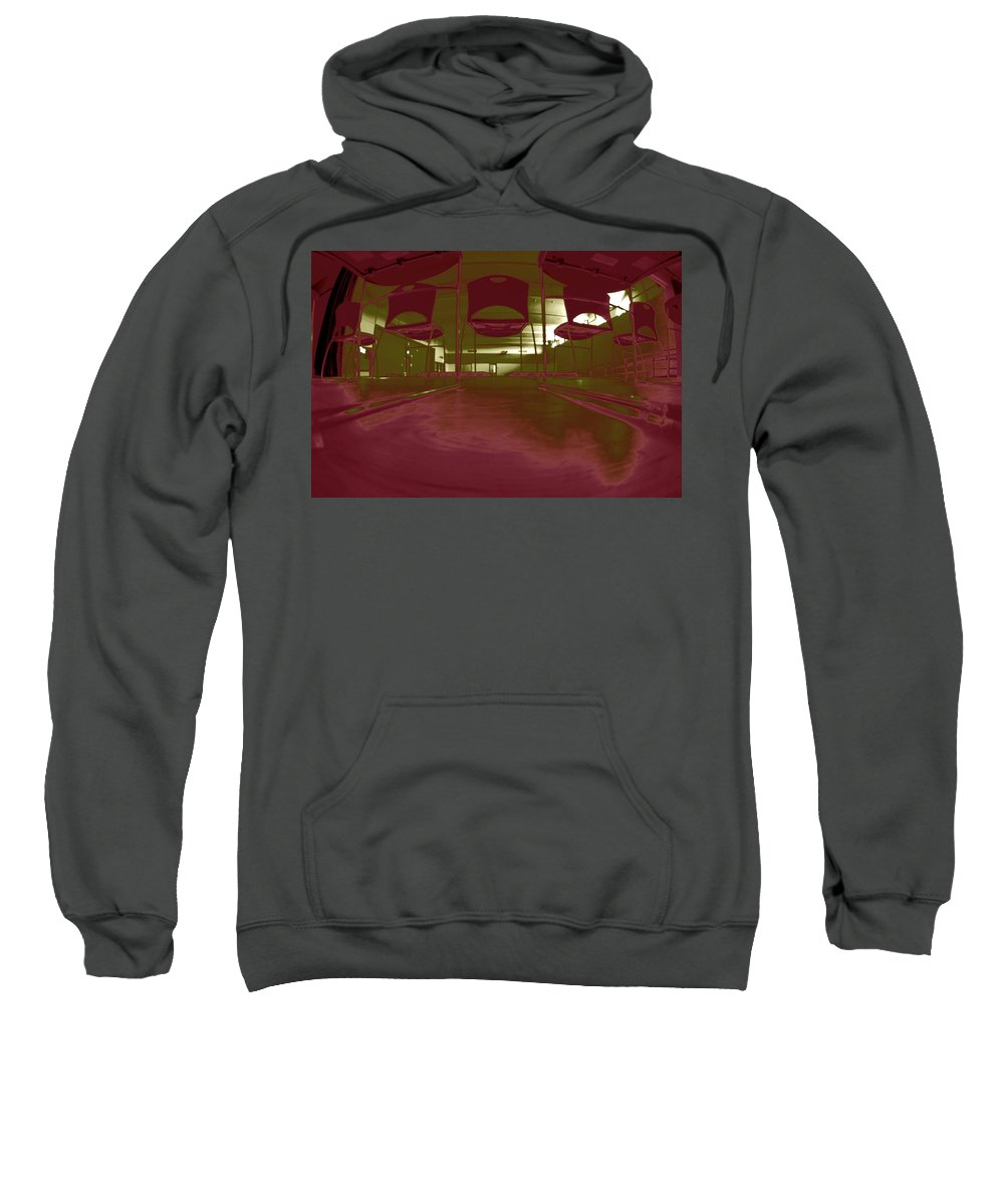 Stage Sweatshirt featuring the photograph Stage Fright by David S Reynolds