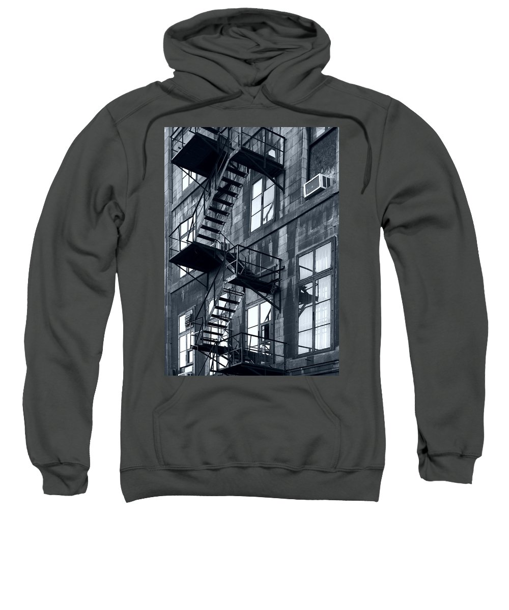 Canada Sweatshirt featuring the photograph Stairs by Pierre Logwin