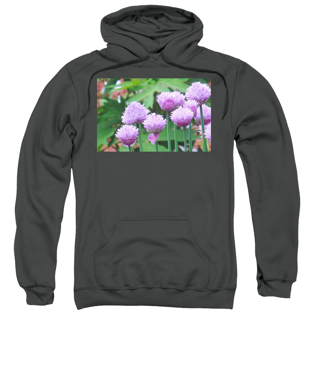 Flower Sweatshirt featuring the photograph Stand Tall by Ian MacDonald