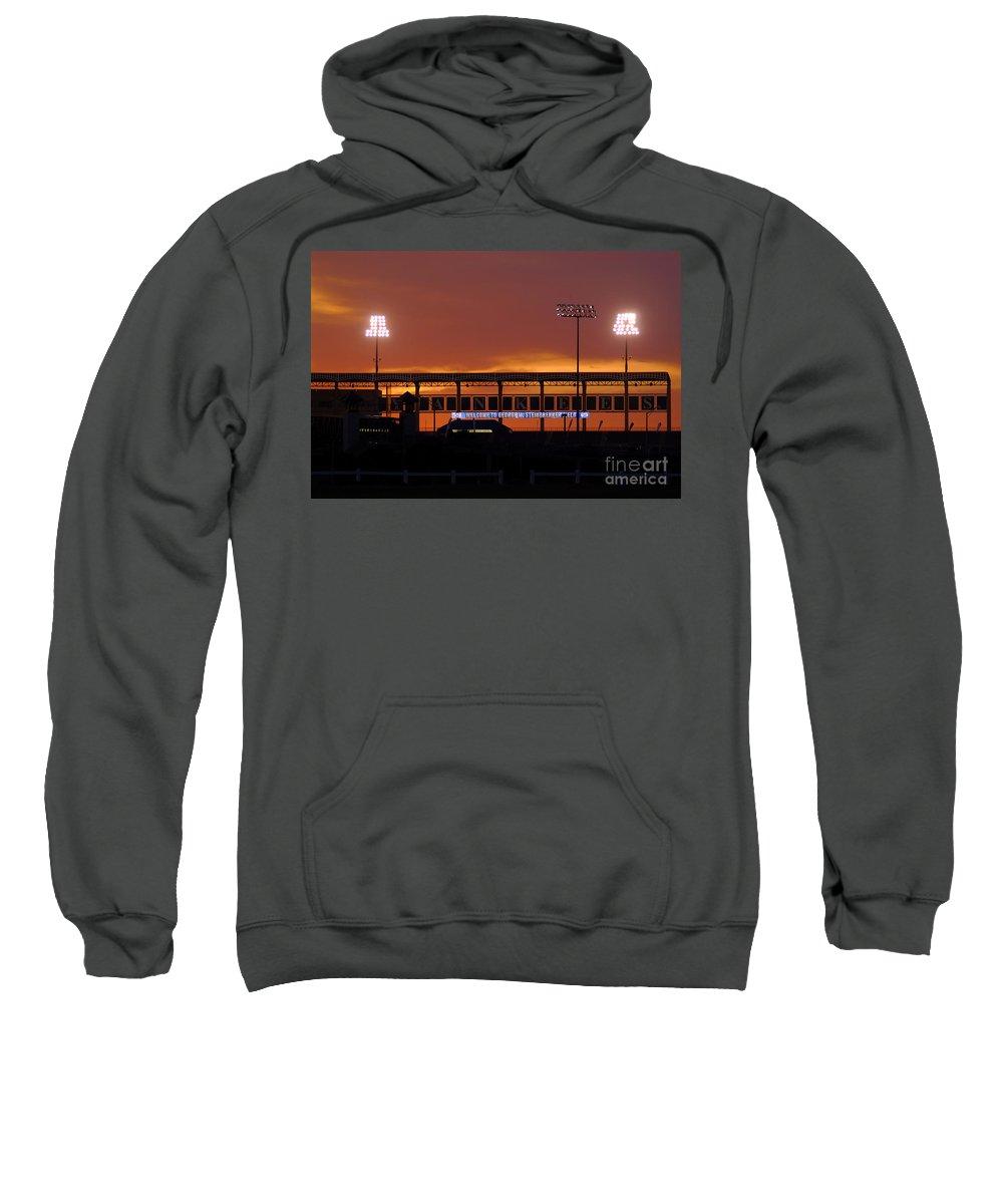 Steinbrenner Field Sweatshirt featuring the photograph Steinbrenner Field by David Lee Thompson