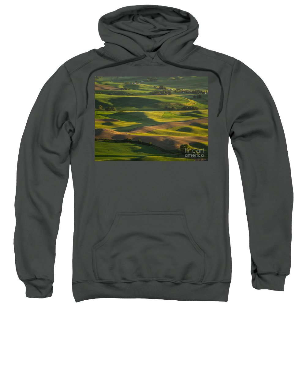 Barns Sweatshirt featuring the photograph Steptoe Butte 6 by Tracy Knauer