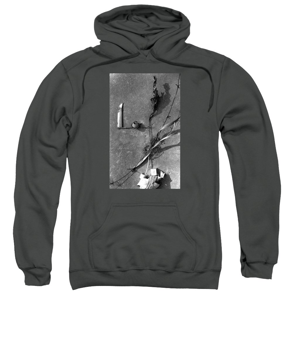 Still Life Sweatshirt featuring the photograph Still Forms by Ted M Tubbs
