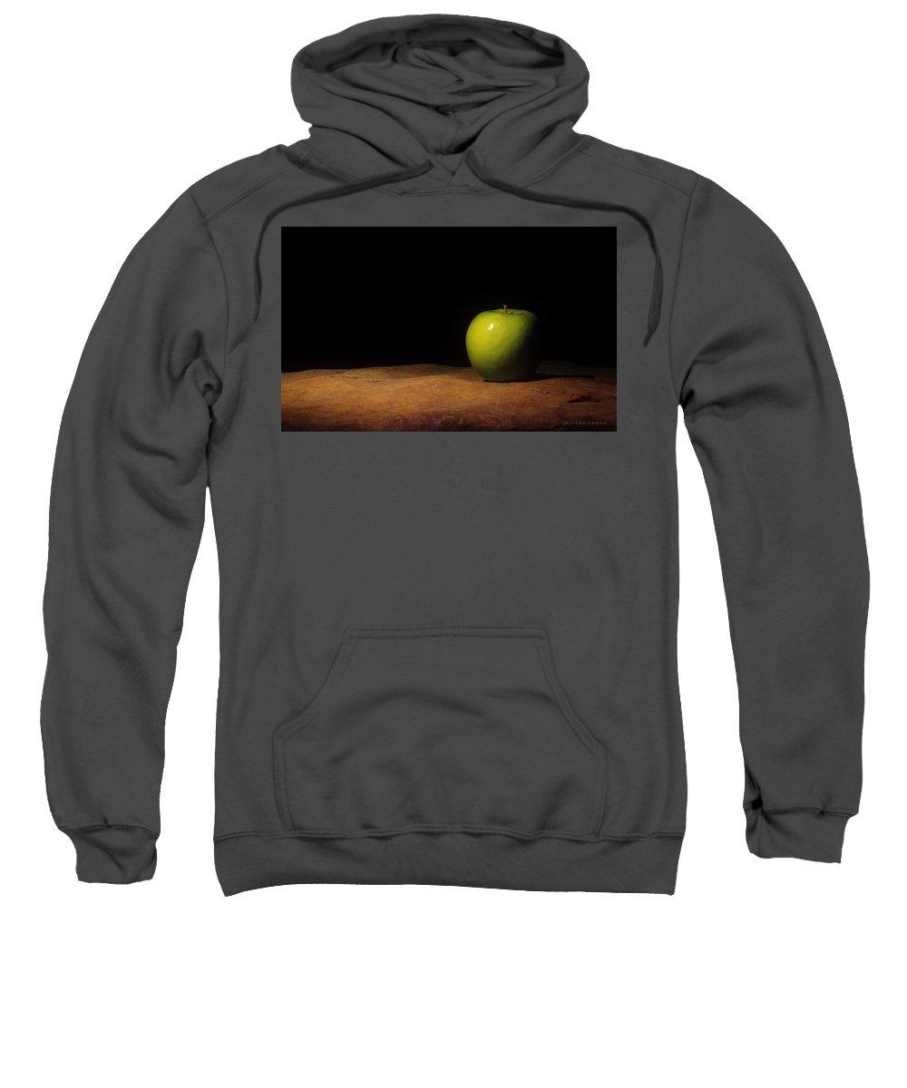 Apple Sweatshirt featuring the photograph Still Life #434 by J Michael Hamon