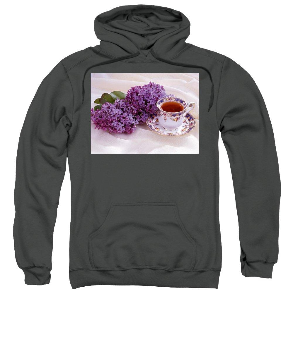 Still Life Sweatshirt featuring the digital art Still Life by Bert Mailer