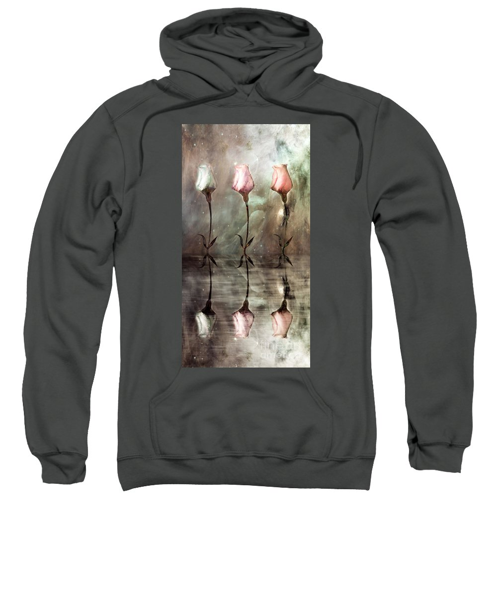 Floral Sweatshirt featuring the photograph Still by Jacky Gerritsen