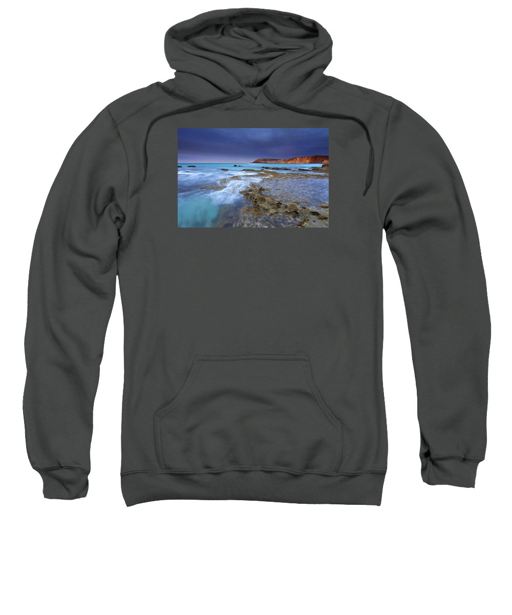 Dawn Sweatshirt featuring the photograph Storm Light by Mike Dawson