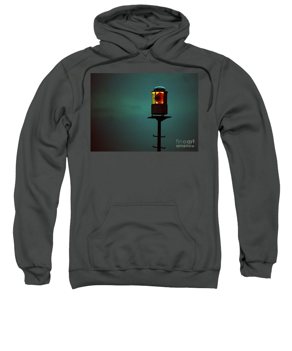 Storm Sweatshirt featuring the photograph Storm Signal by Hannes Cmarits