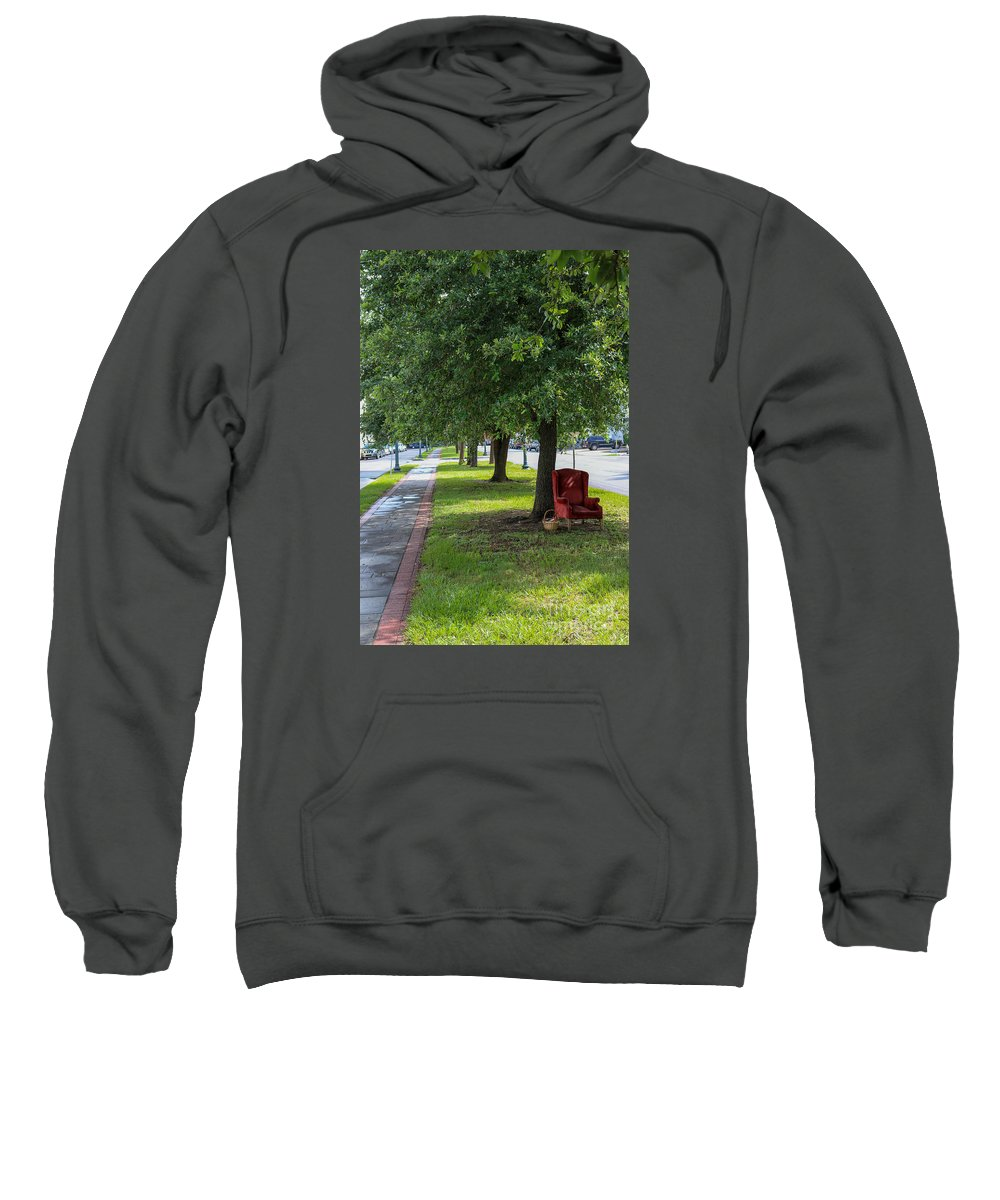 New Orleans Sweatshirt featuring the photograph Storyteller by My NOLA Eye