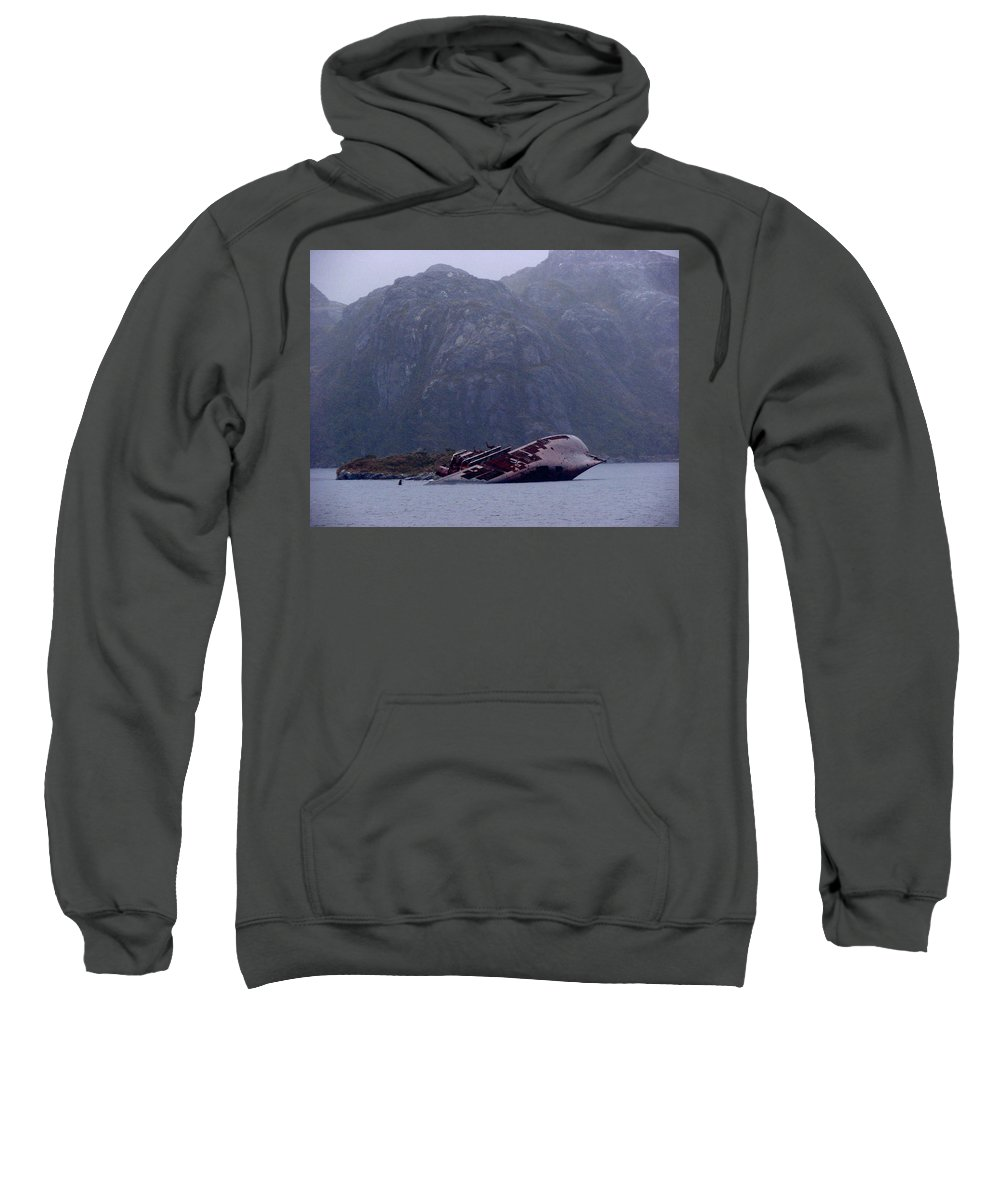 Straits Of Magellan Sweatshirt featuring the photograph Straits Of Magellan Iv by Brett Winn