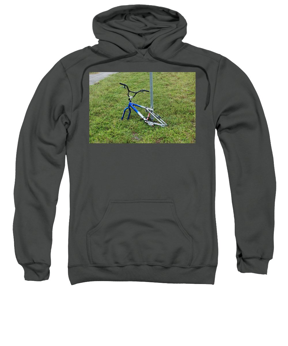 Bicycle Sweatshirt featuring the photograph Stripped by Rob Hans