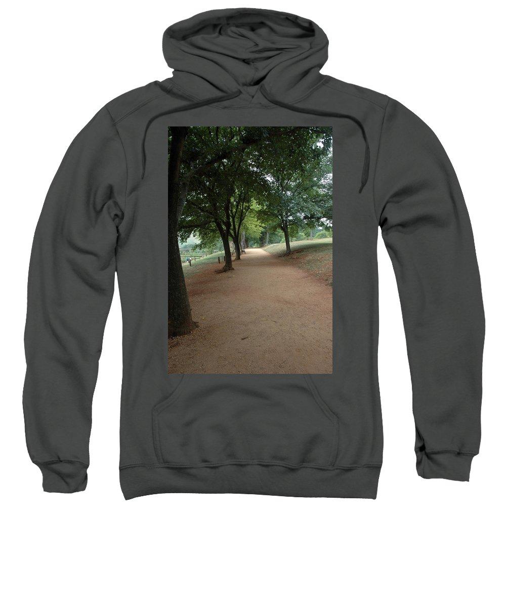 Usa Sweatshirt featuring the photograph Stroll On Mulberry Row Monticello by LeeAnn McLaneGoetz McLaneGoetzStudioLLCcom