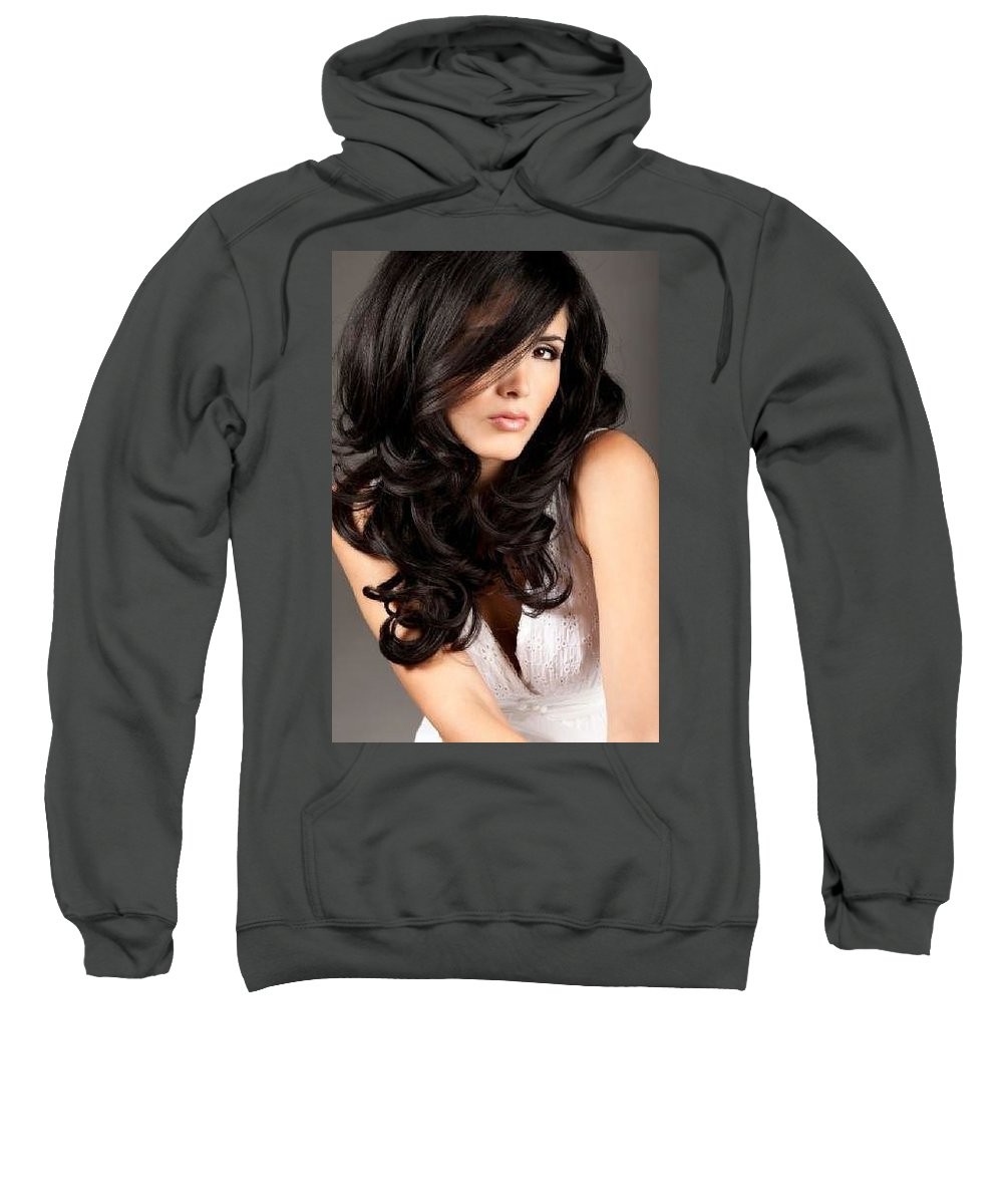 Nuviante Sweatshirt featuring the digital art Style With No Pubic Hair by Hanghoiq