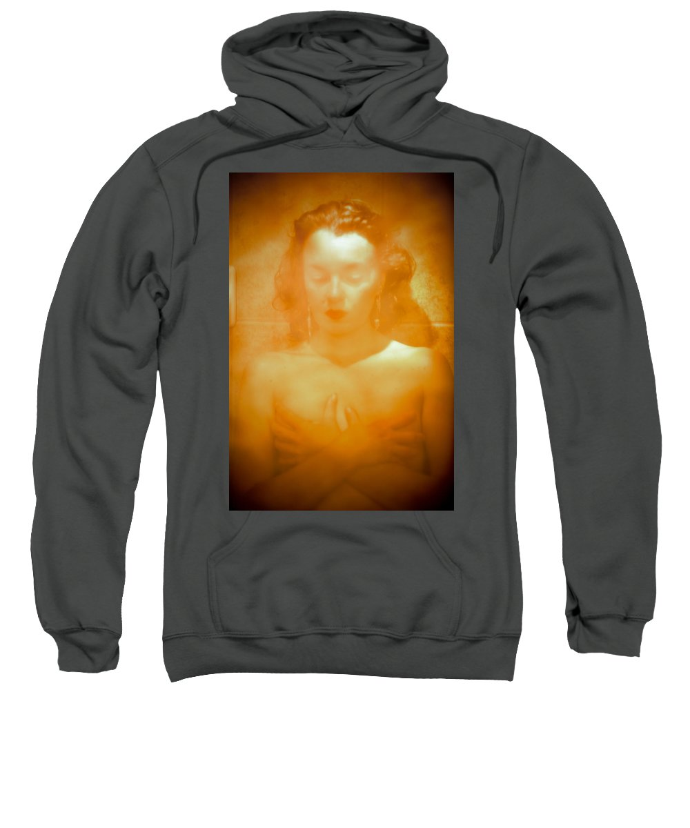 Woman Sweatshirt featuring the photograph Subdued Glamor by Scott Sawyer